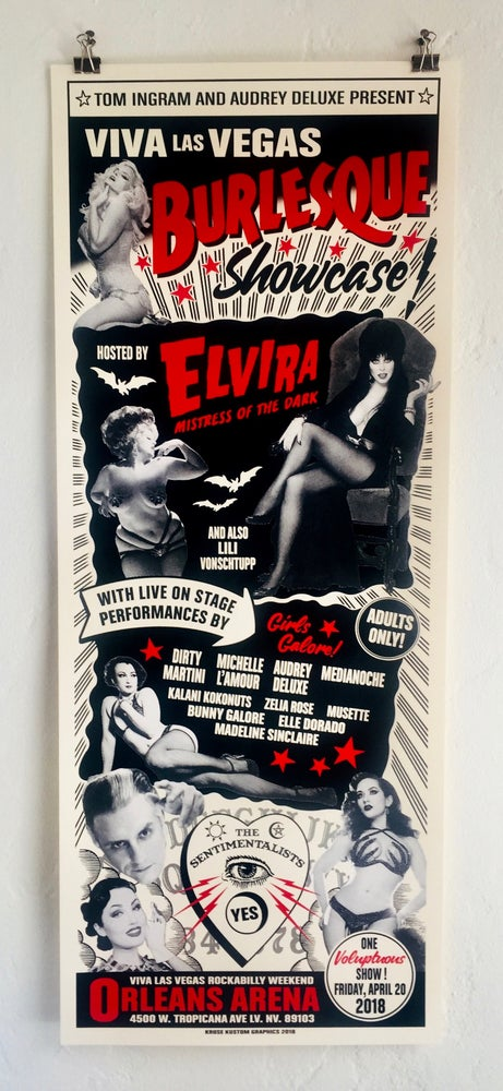 Image of Viva Las Vegas 21 Burlesque featuring Elvira