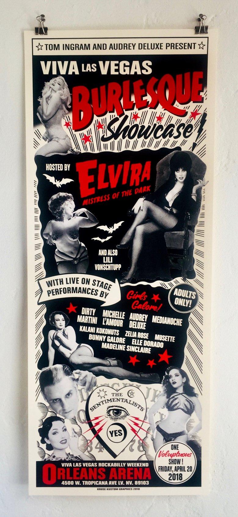 Image of Viva Las Vegas 21 Burlesque featuring Elvira