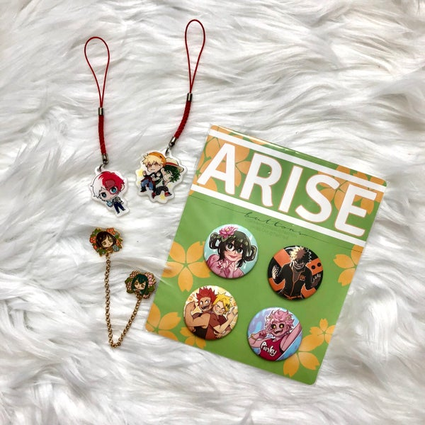 Image of [POs] Arise: Spring - Non-Paper Merch