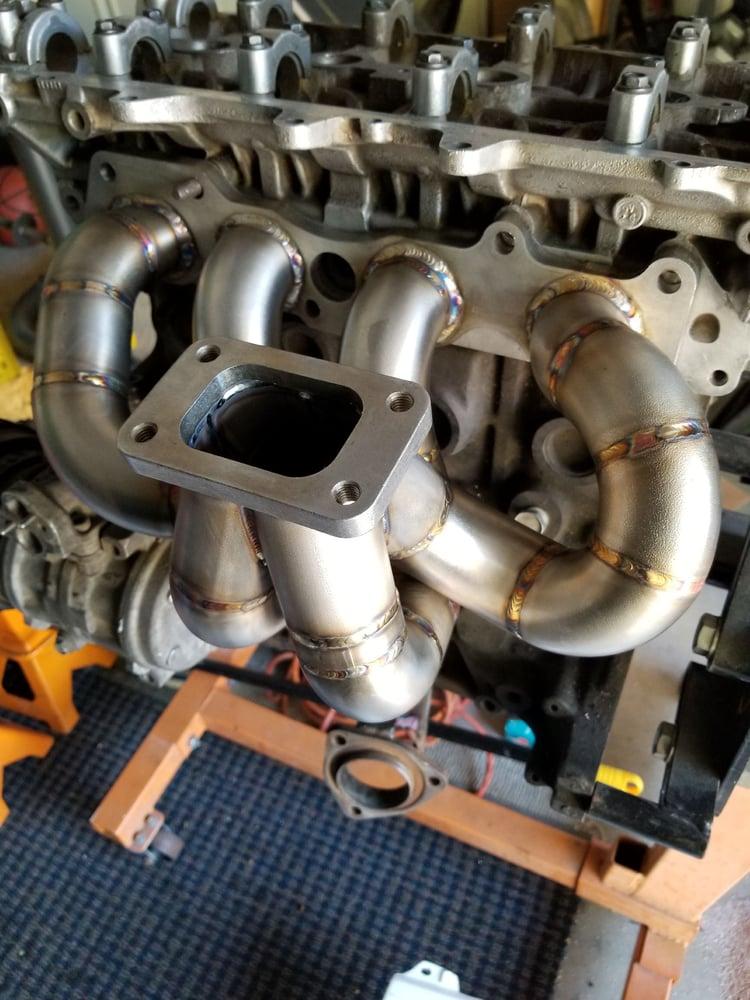Image of Gen2/ST185 1991-1995 USDM 1991-1993 JDM Race Turbo Exhaust Manifolds - 3SGTE