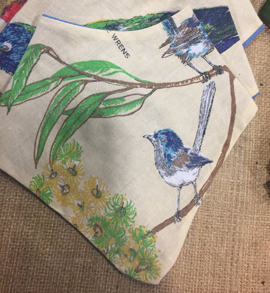 Image of Blue Wren Bandana