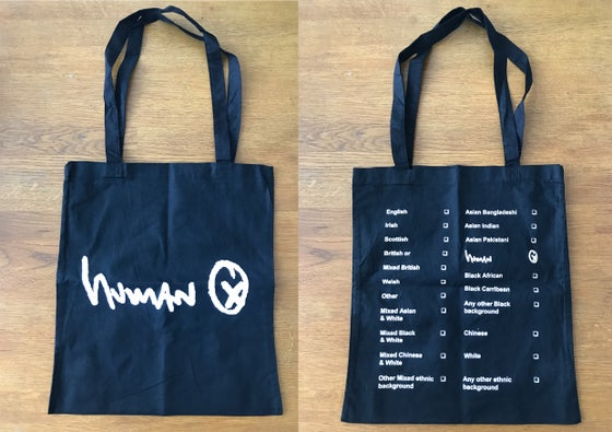 Image of Human Tote Bag