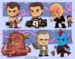 Image of Evolution of Michael Rooker
