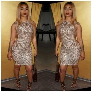 Image of Golden Affair Dress
