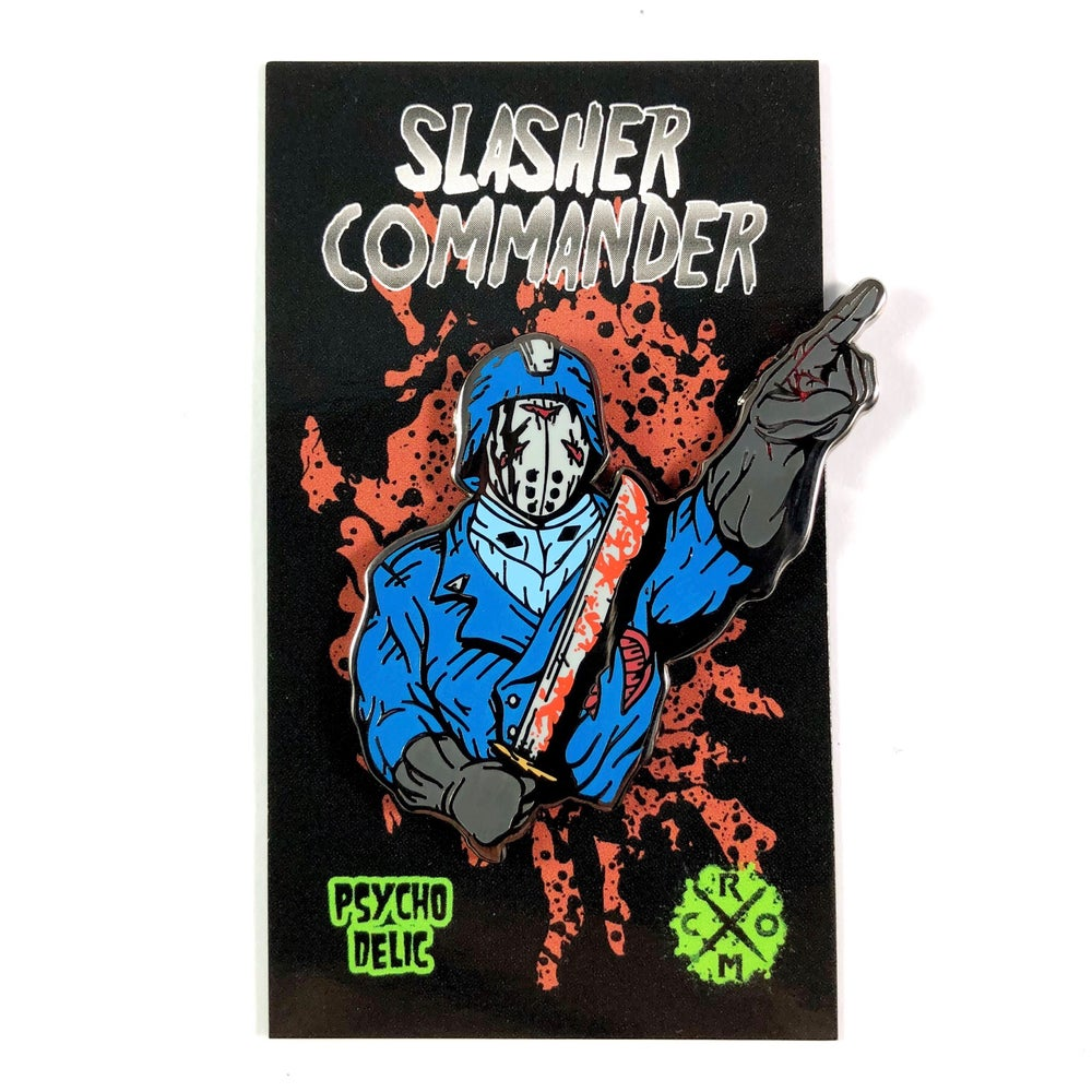 Slasher Commander (Enamel Pin)