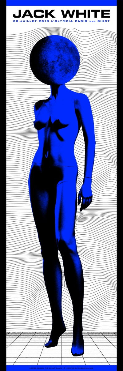 Image of Jack White / Paris / Night 1