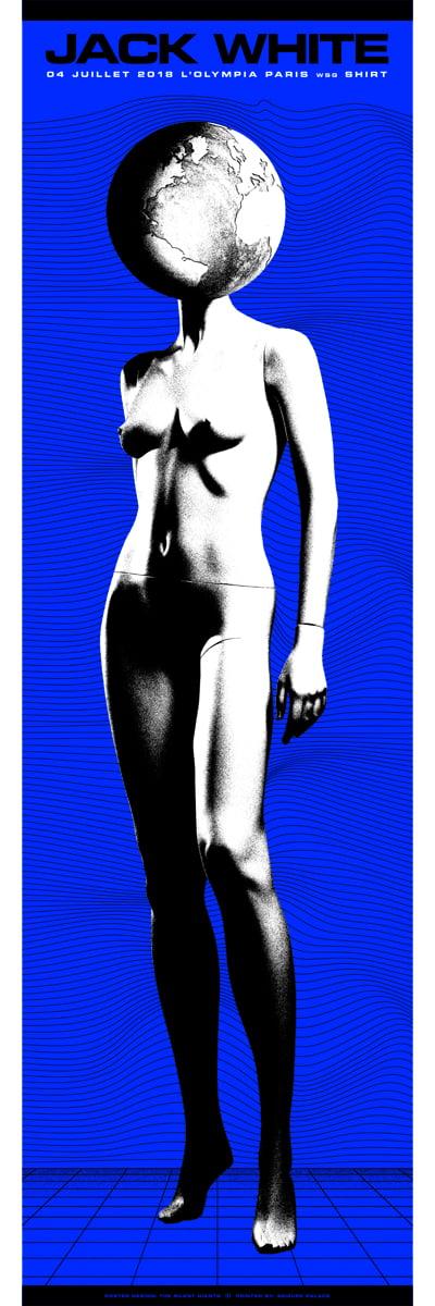 Image of Jack White / Paris / Night 2