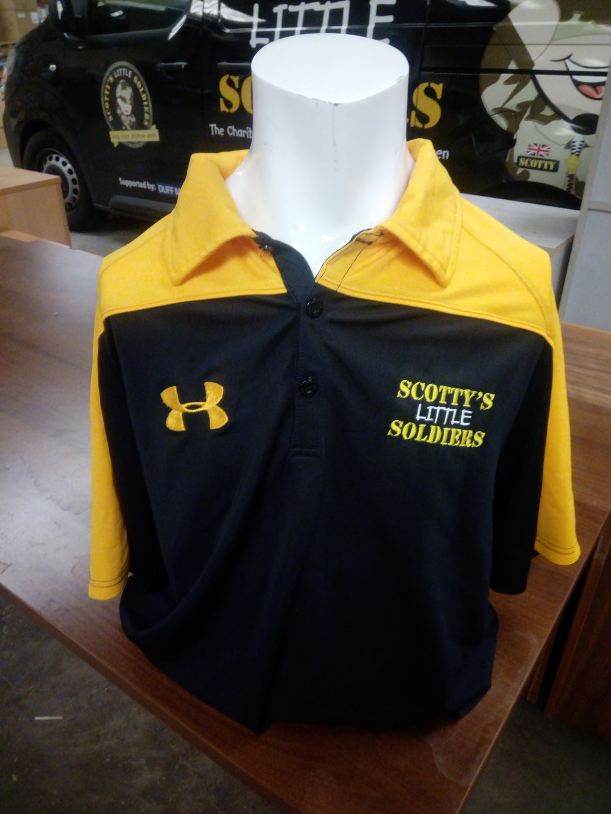 Image of Limited Edition Under Armour Polo Shirt