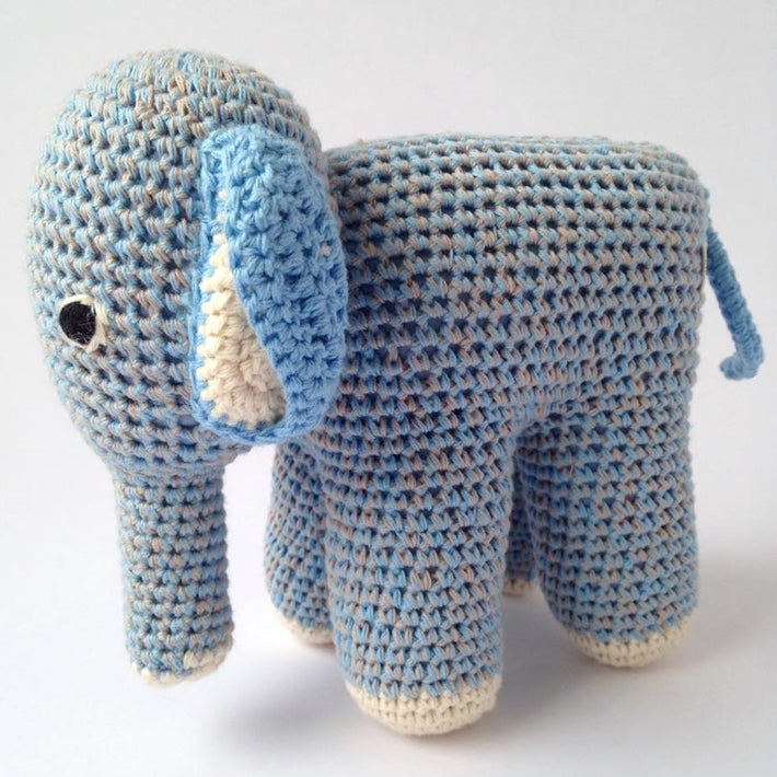 Image of Blue Elephants Baby Gift Box