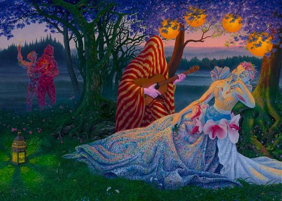 """Image of """"Healer's Reverie"""" Print"""