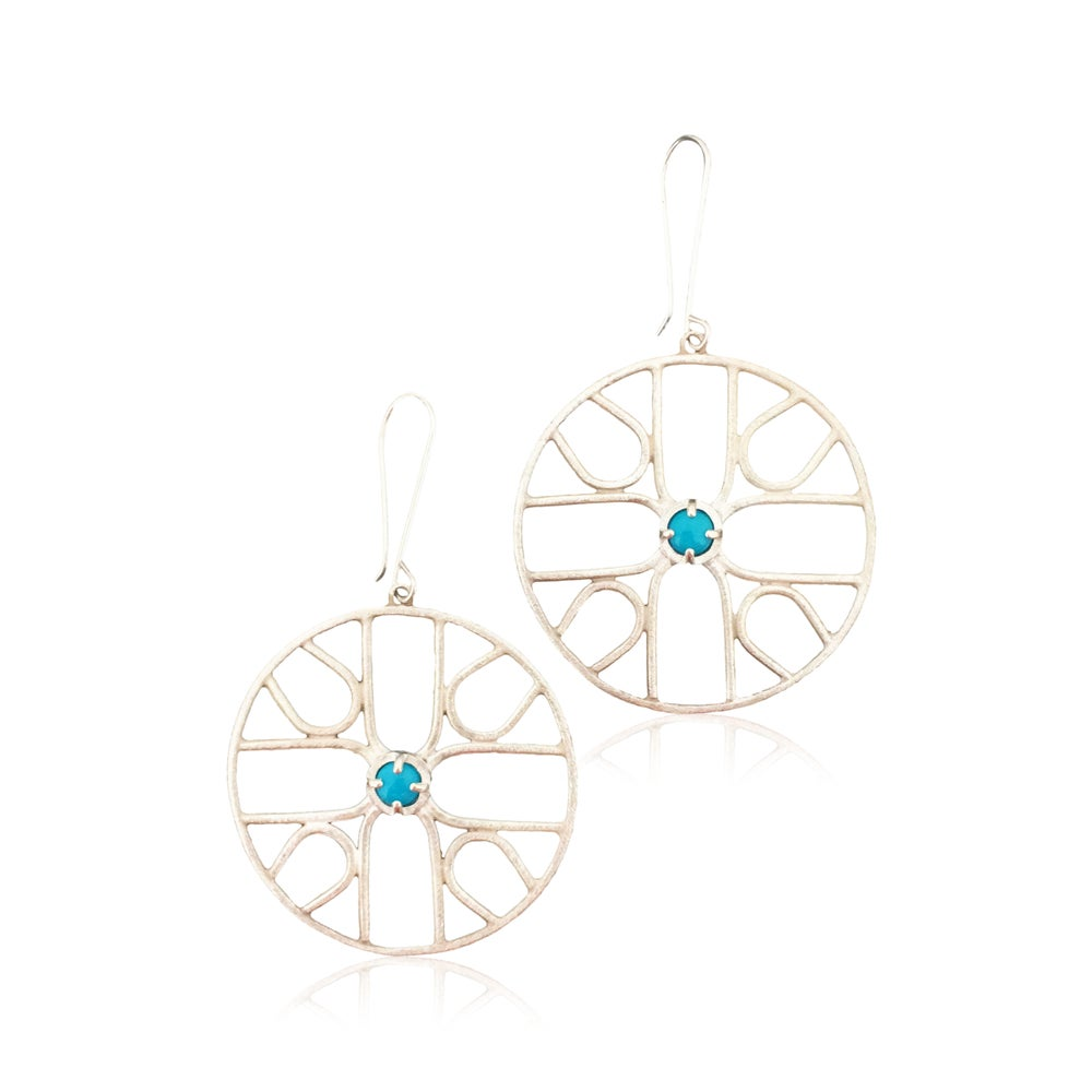 Image of sym earrings (see for gem options)