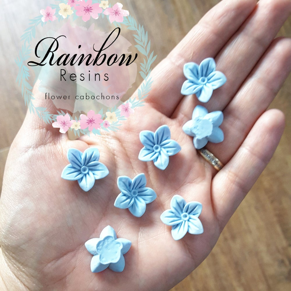 Image of Baby blue 'forget me nots' x 10