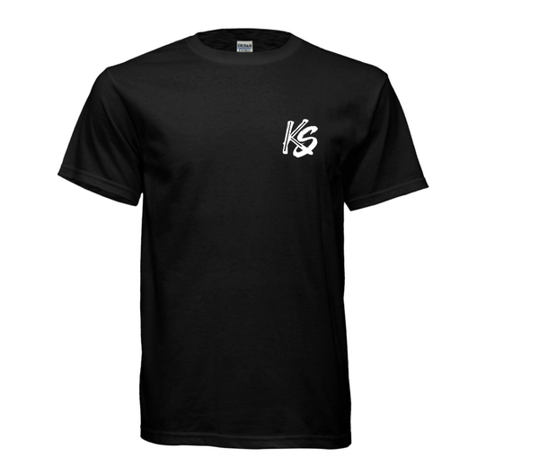 Image of KS Logo Tee Shirt (Black)