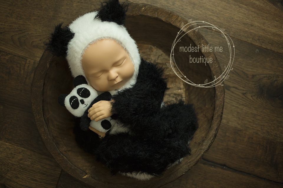 Image of Furriest Little Panda Set
