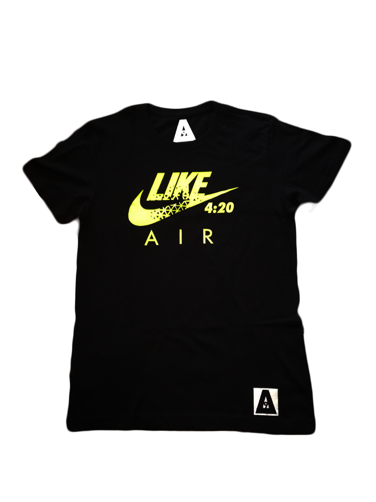 "Image of ΔELTA9INE  ""4:20 LIKE AIR"" T-SHIRT"
