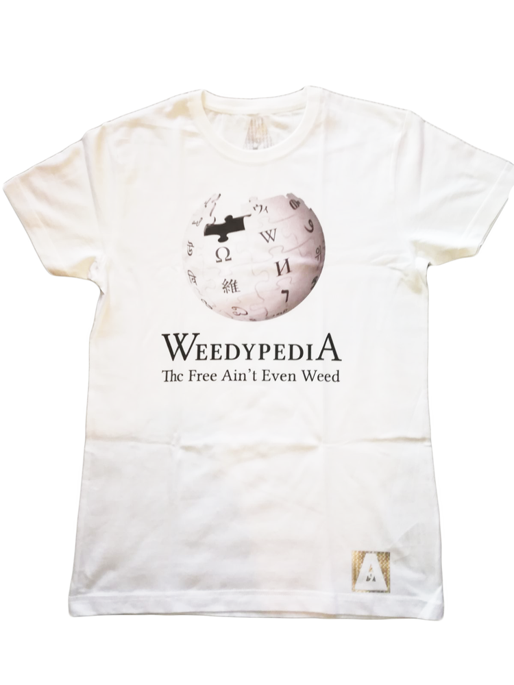 "Image of ΔELTA9INE ""WEEDYPEDIA"" T-SHIRT"