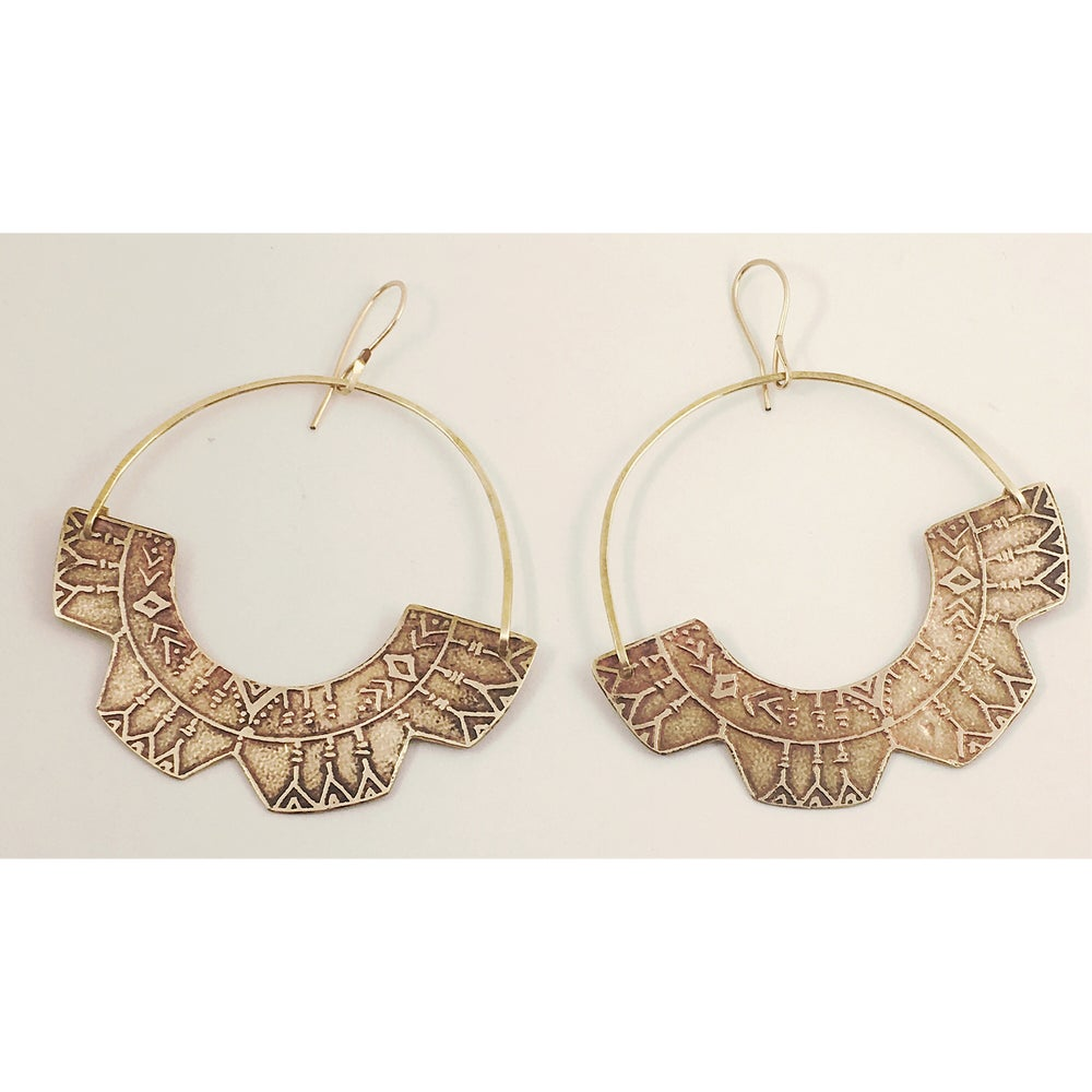 "Image of ""Vashti"" Hoops"