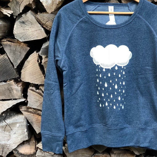 Image of Raincloud organic blend sweatshirt