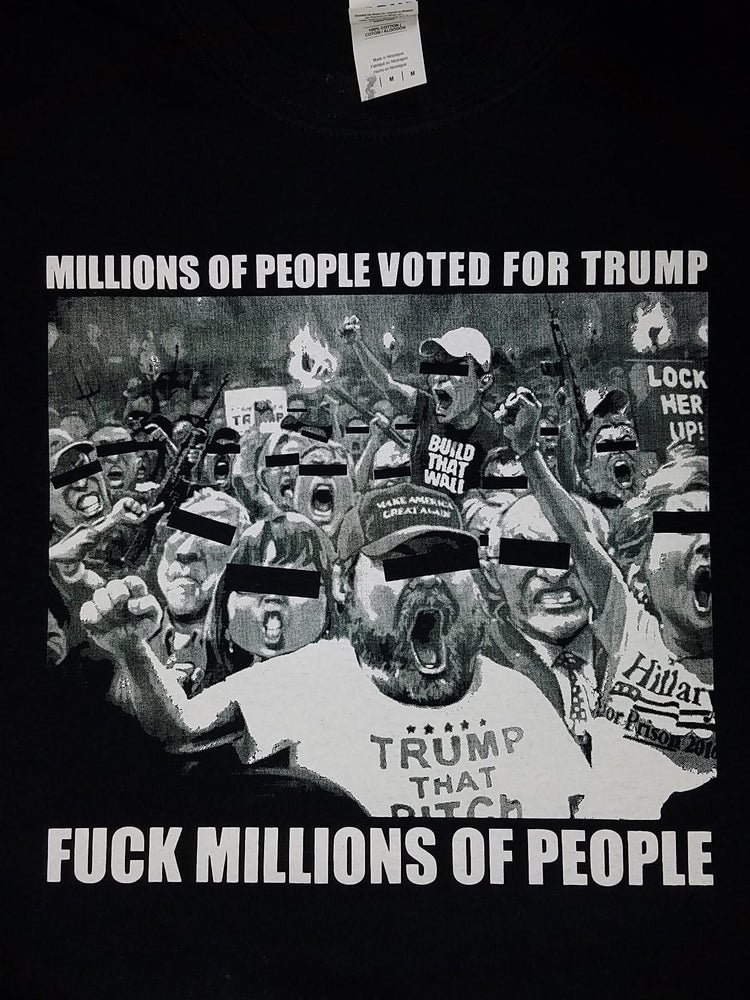Image of FUCK TRUMP VOTERS #MAGA SHIRT
