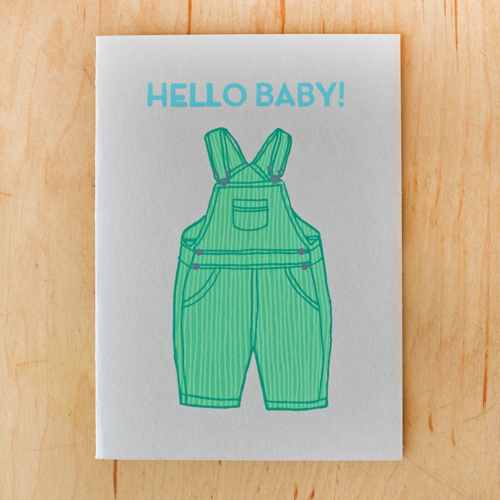 Image of Hello Baby Overalls