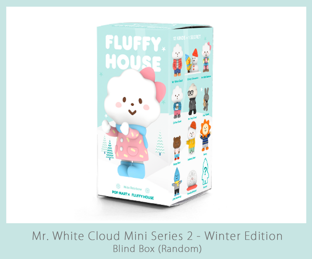 Image of Mr. White Cloud Mini Series 2 - Winter Edition (Random)