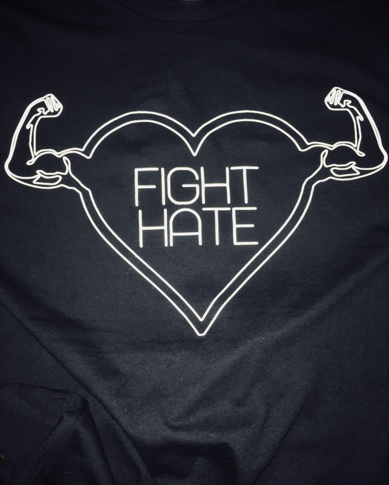 Image of FIGHT HATE TEE