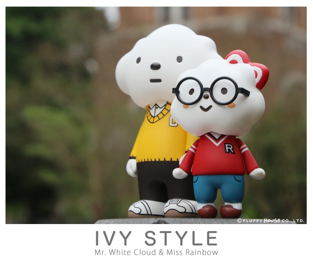 Image of Ivy Style - Mr. White Cloud & Miss Rainbow