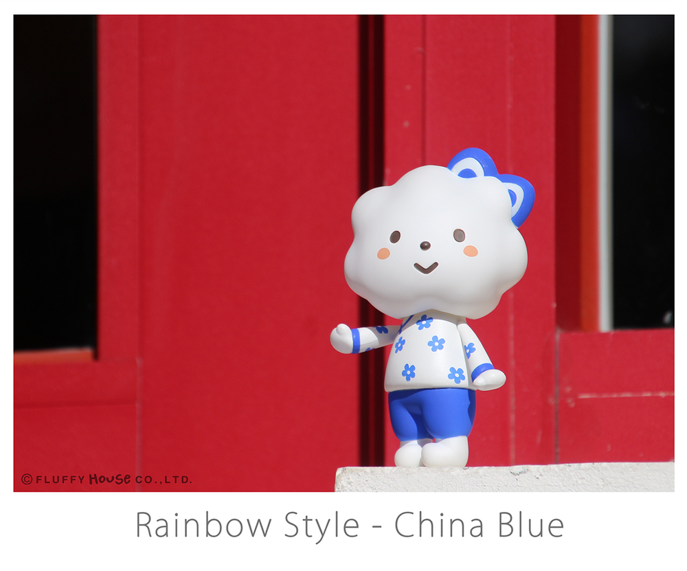 Image of Rainbow Style - China Blue