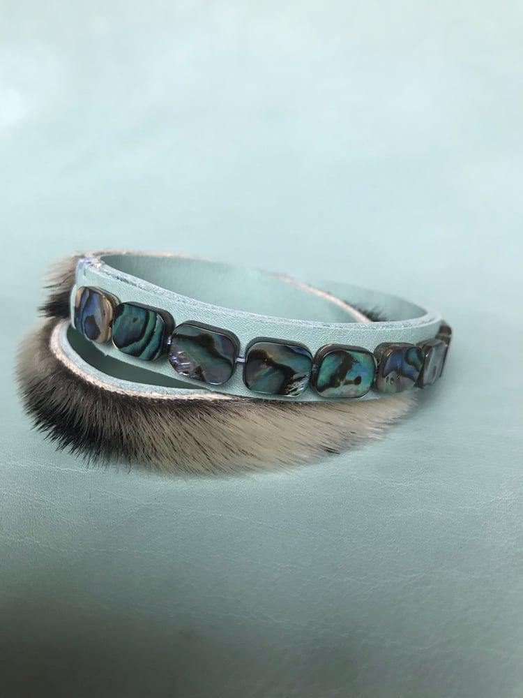 Image of Sealskin Wrap Bracelet