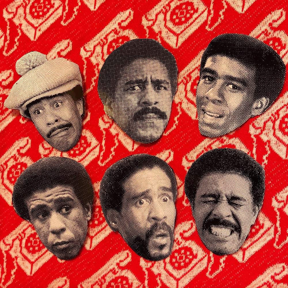 Image of Richard Pryor sticker pack