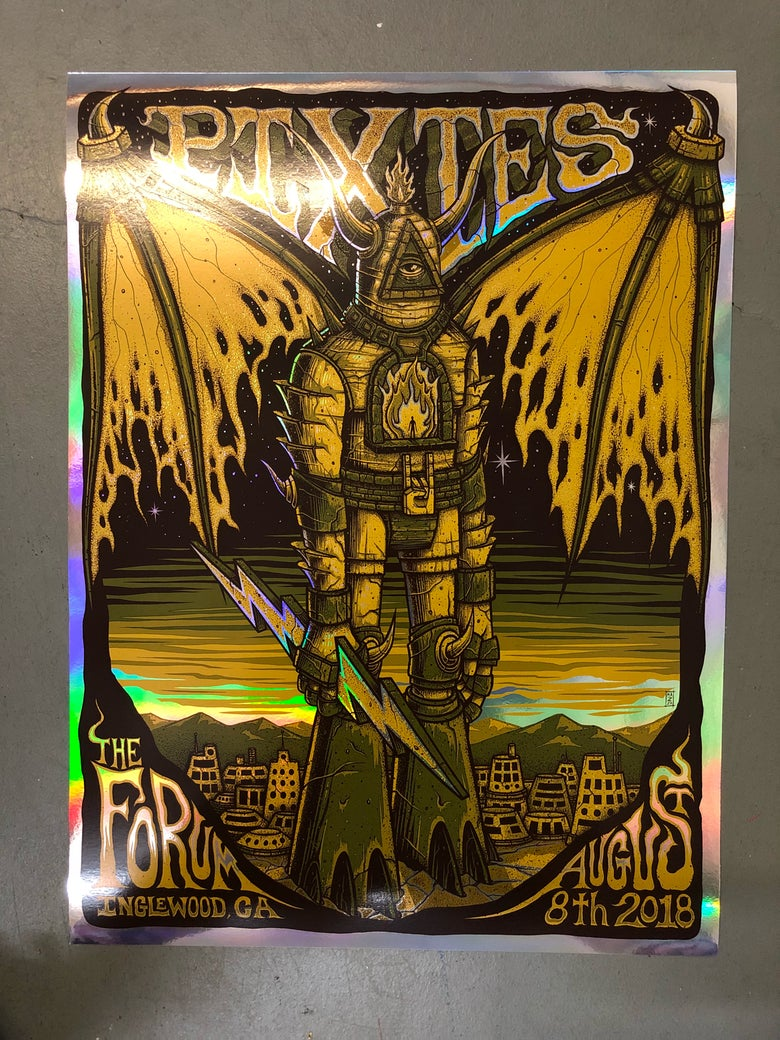 Image of Pixies - August 8th, 2018 - The Forum - Holographic Foil Edition