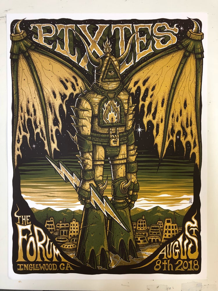 Image of Pixies - August 8th, 2018 - The Forum - Regular and Foil Combo