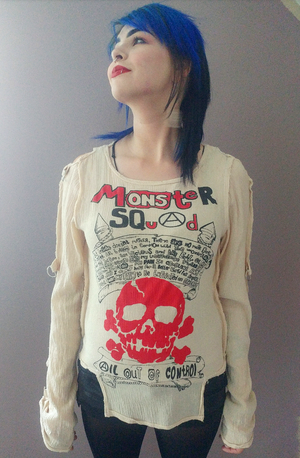 Image of Monster Squad bondage shirt