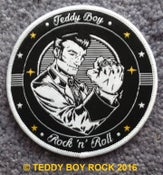 "Image of ""TEDDY BOY ROCK 'N' ROLL"" -  CLOTH PATCH"