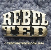 "Image of ""REBEL TED"" - PIN BADGE"