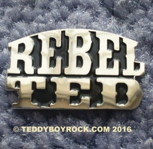 "Image of ""REBEL TED"" - PIN BADGE - NOW HALF PRICE!"