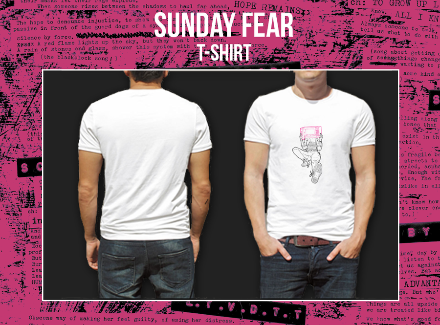 Image of Sunday Fear T-Shirt - SOLD OUT