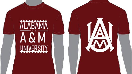 Image of Maroon AAMU - Popular Demand Style Shirt