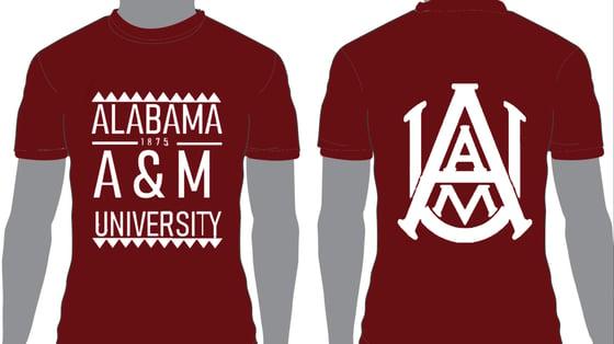 Image of Maroon AAMU - Popular Demand Style Shirt