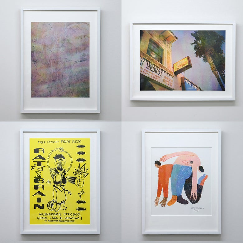 Image of RISO series - Coley Brown/Dan Monick/Ed Davis/Jeffrey Cheung