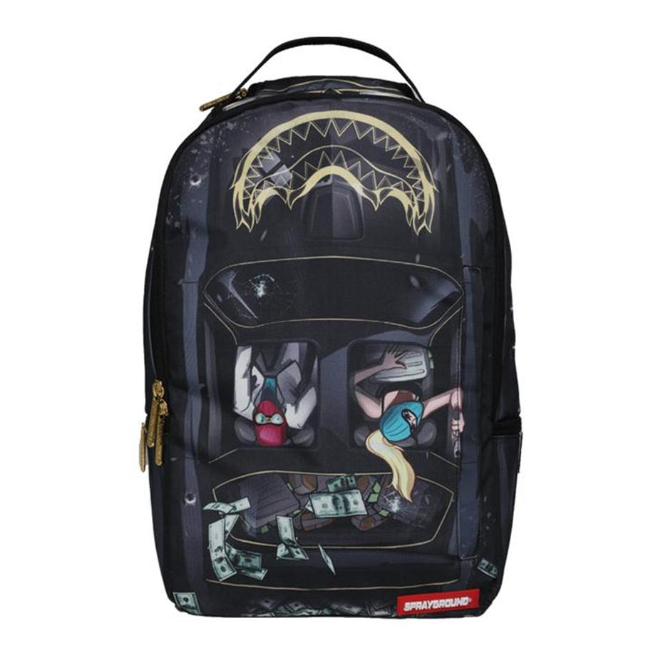 Image of SPRAYGROUND FIREBIRD SMUGGLER BAG BACKPACK