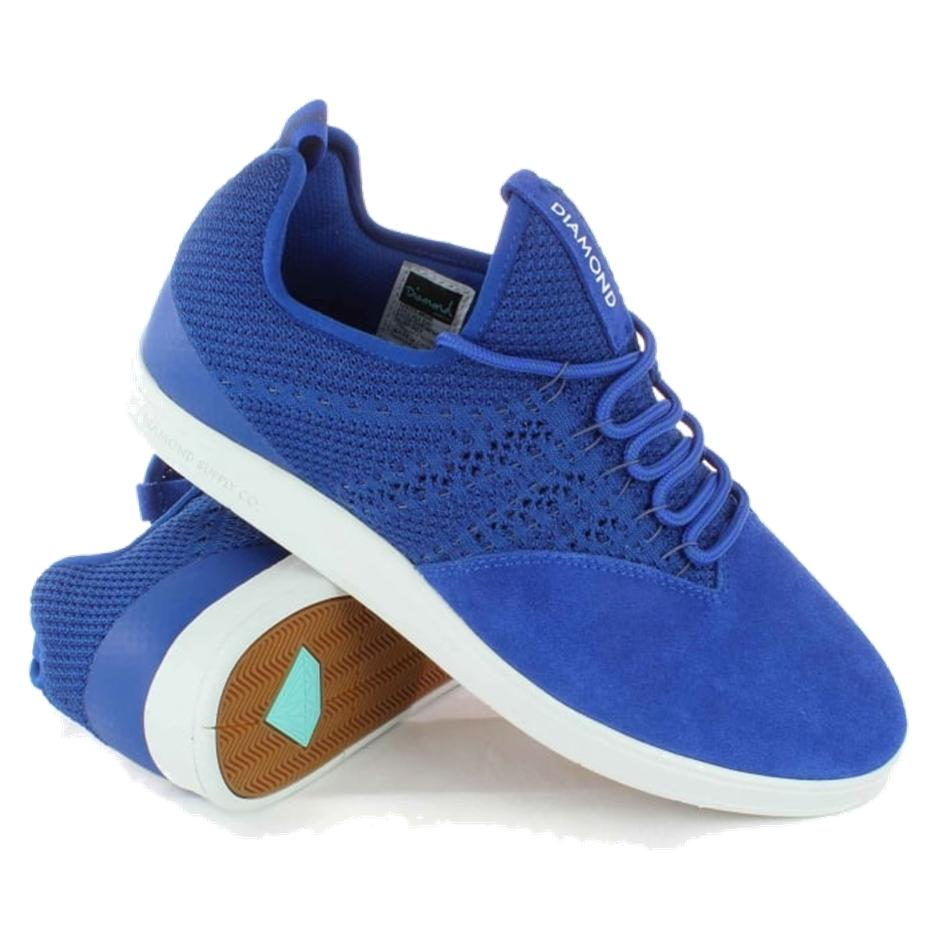 Image of DIAMOND SUPPLY CO All Day Biebel Skate Shoes in Royal