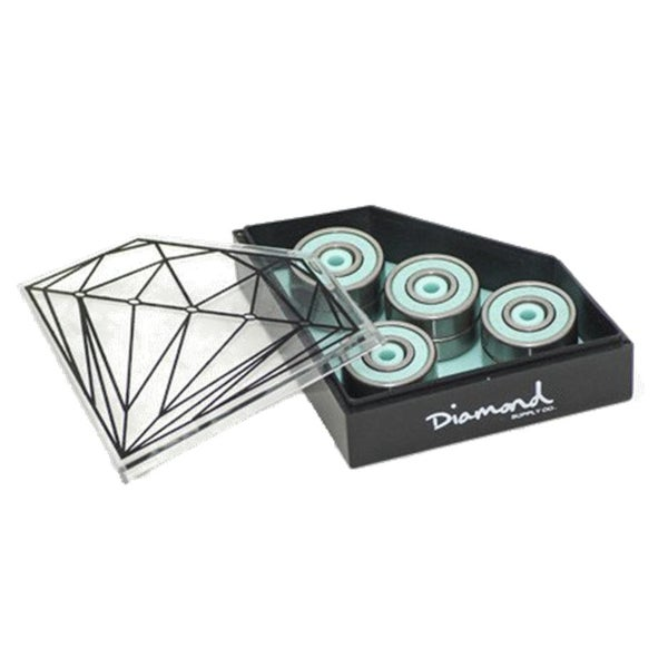 Image of Diamond Supply Co 8mm Smoke Rings ABEC 7 Skateboard Bearings