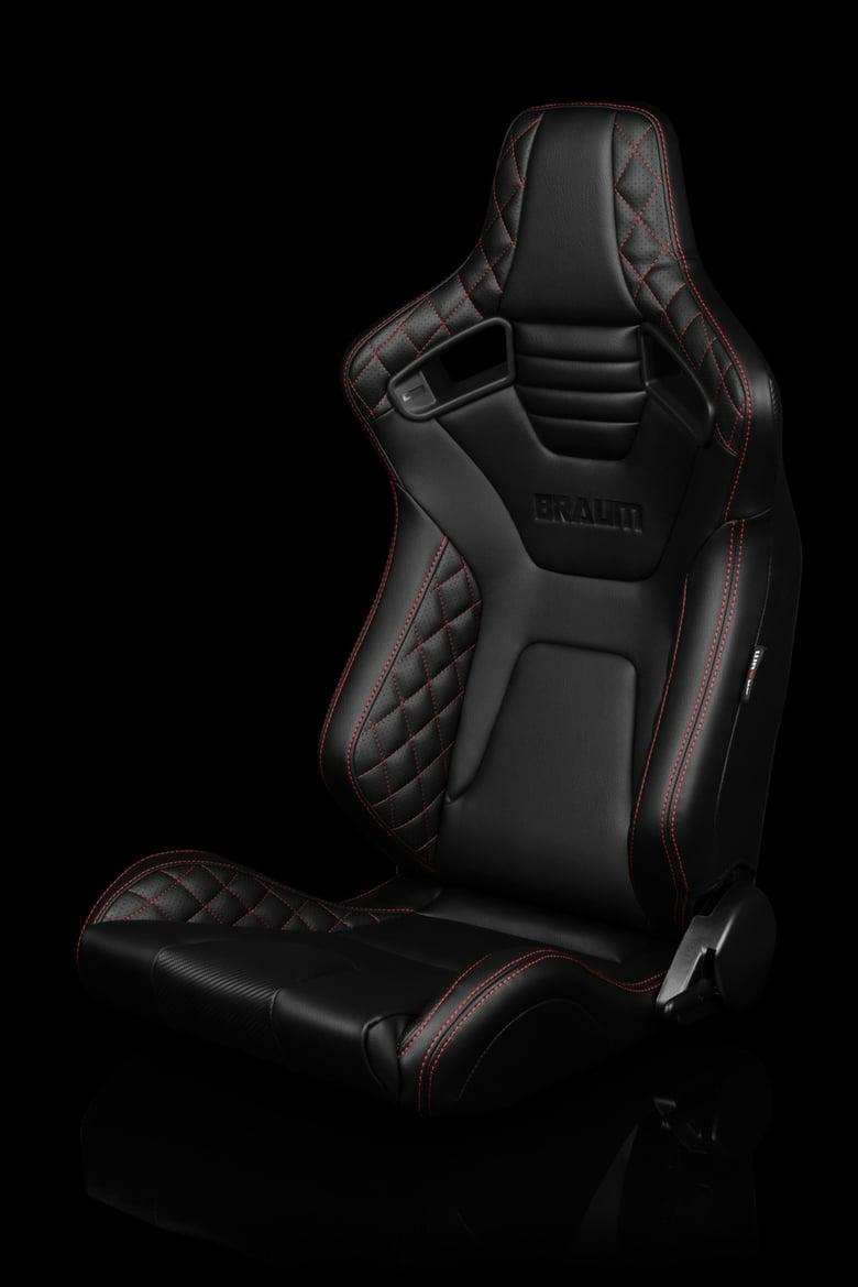 Image of Version 1 Diamond Edition - Elite X Series - Universal Braum Racing Seats (Pair)