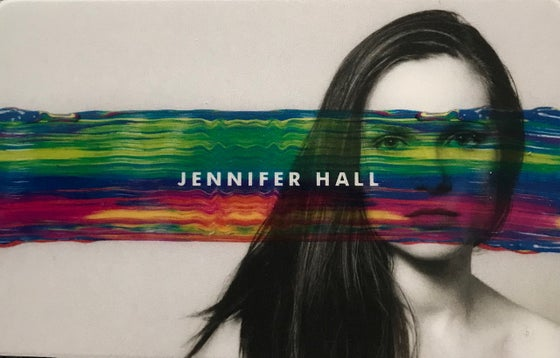 Image of Jennifer Hall EP Download Card