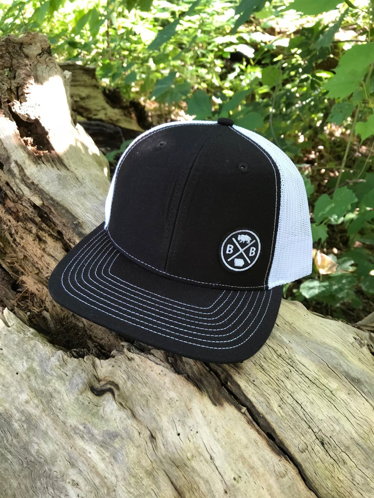 Image of Bison Small Patch Snap Back