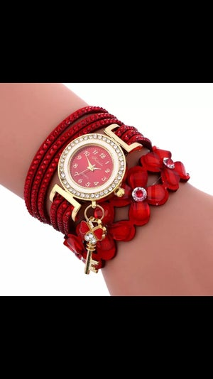Image of Bracelet Watch with Charm