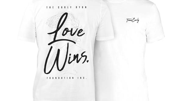 Image of 'Love Wins' Team Carly Tee