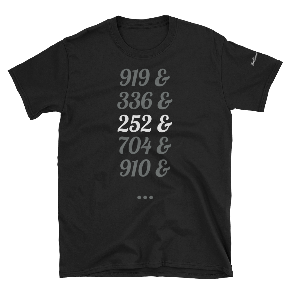 Image of Area Code T-shirt
