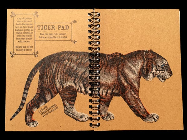 "Image of Medium Tiger Pads (5""x7"")"